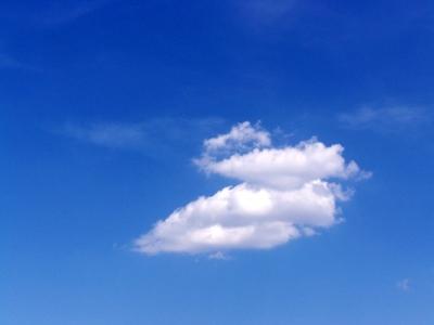 Wolken romantisch