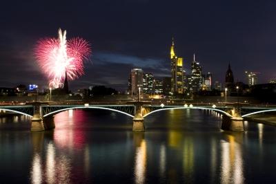 Frankfurt Mainfest Feuerwerk