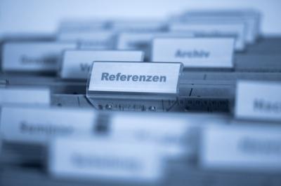 Register Referenzen
