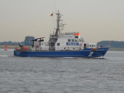 """Polizeiboot """"Bürgermeister Weichmann"""""""