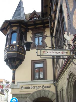 Das Henneberger Haus in Meiningen / 1