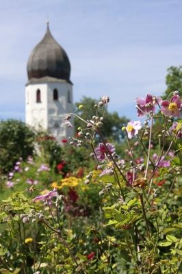 Blütenpracht auf der Fraueninsel