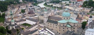 Salzburg - Altstadtpanorama