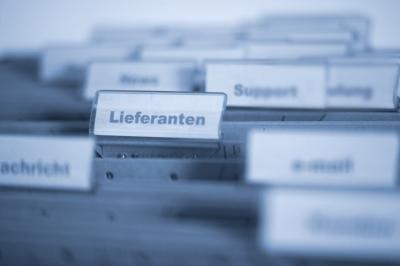 Register Lieferanten