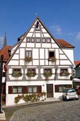 Kässbohrer-Haus im Ulmer Fischerviertel (Setra-Museum)