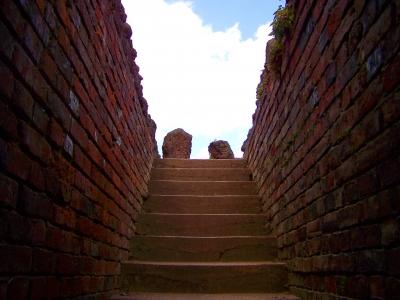 Treppe im WP 3