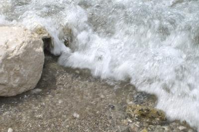 Brandung am Lago di Garda