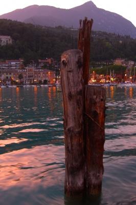 Abendstimmung am Lago di Garda