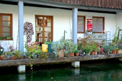 Unterwegs im Ulmer Fischerviertel