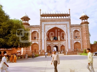 Das Rote Fort in New-Delhi ( Indien )