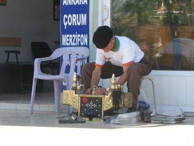 Schuhputzer in der Türkei