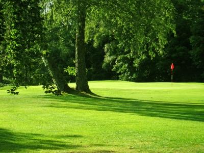 Oase der Ruhe auf dem Golfplatz