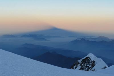 Mont Blanc Sonnenaufgang