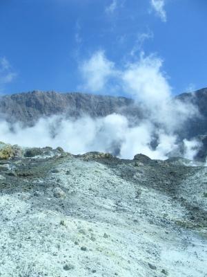 Neuseeland - Vulkaninsel White Island 2