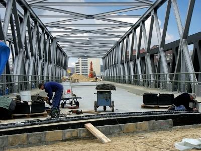 Hafencity - neue Brücke
