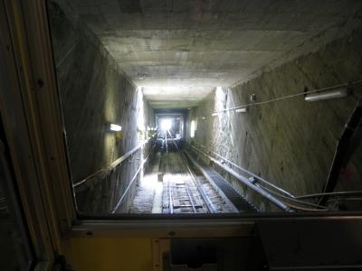 Niesen: Tunnel