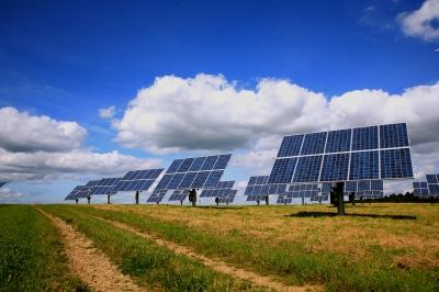 Auf dem richtigen Weg: Solarstromerzeugung
