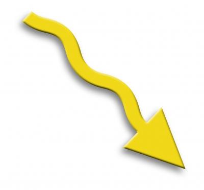 Pfeil - gelb