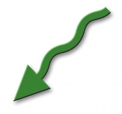 Pfeil - grün