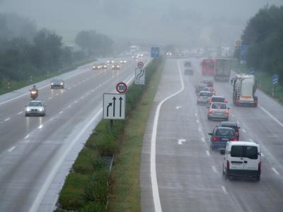Autobahn schlechte Sicht_1