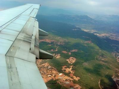 Landeanflug auf Antalya