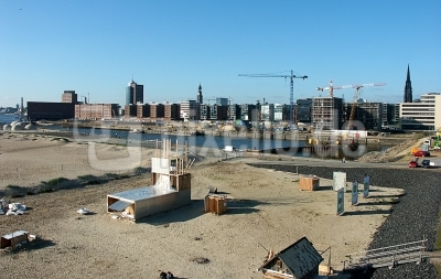 Hafencity - Grasbrookafen vom View-Point