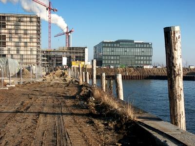 Hafencity - am Dalmannkai