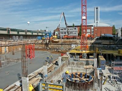 Hafencity - Baustelle Kühne & Nagel