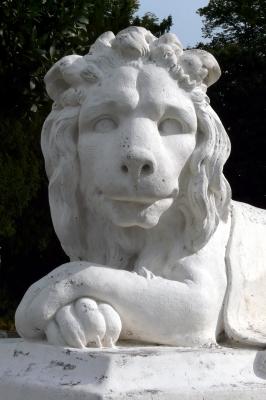 Der weiße Löwe zu Schloss Benrath #2