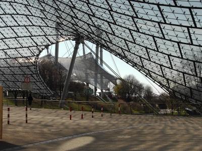 Ausschnitt der Dachkonstruktion