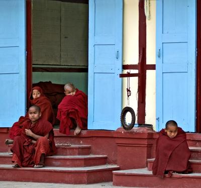 Die Menschen Burmas ....