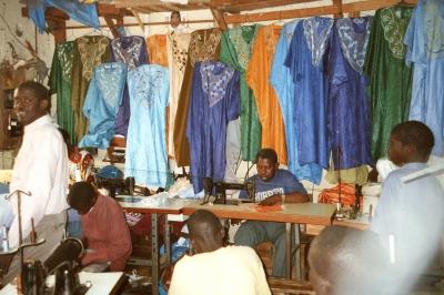 Schneiderhandwerk in Dakar