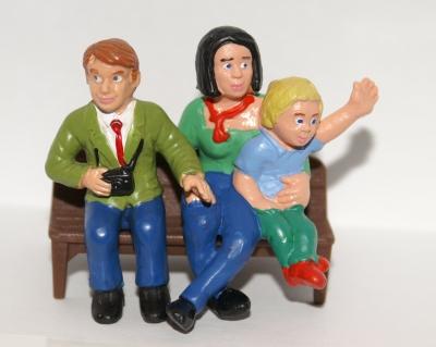 Figurengruppe Familie