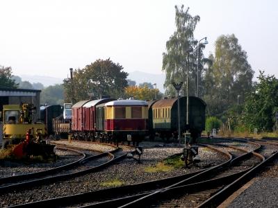 historische Schienenfahrzeuge - Waggon