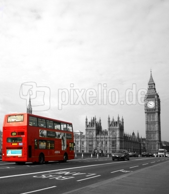 Roter London Bus