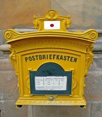 Briefkasten mit Herz