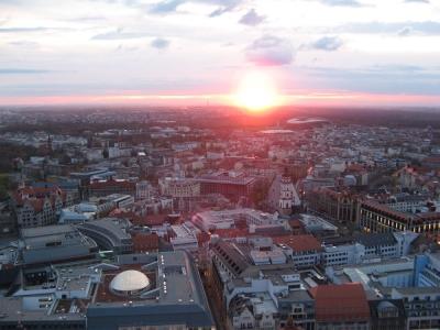 Leipzig verglüht