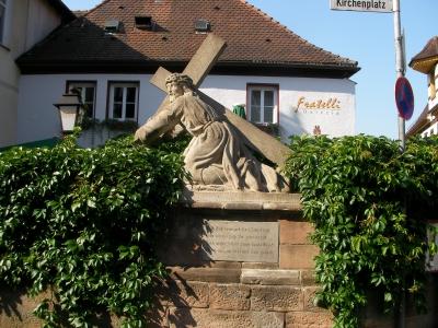 am Kirchenplatz in Herzogenaurach