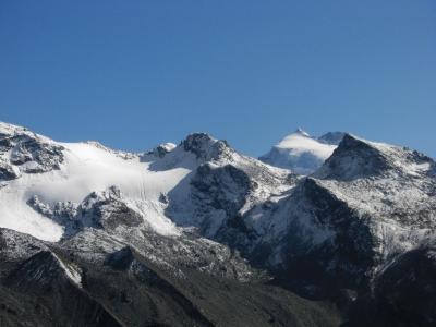 Gigantische Bergwelt