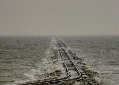 Auf Schienen durch die Nordsee