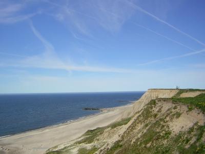 Steilküste bei Bovbjerg/Dänemark