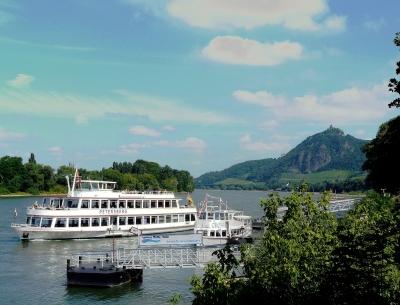 Rheinromantik am Drachenfels