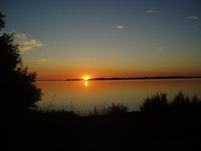 Abendliche Küste
