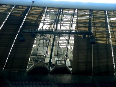 Lichtanlage in der Allianz-Arena München