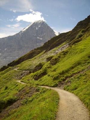 Panoramaweg mit Eiger