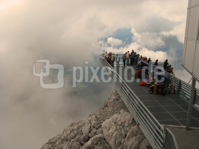 Skywalk auf dem Dachstein