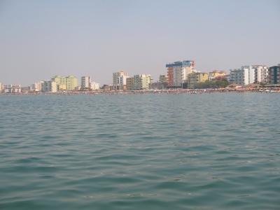 Meer in Durres Albanien