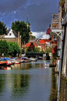 Wasserstraße von Dordrecht