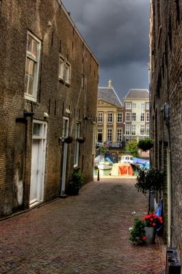Gasse in Dordrecht