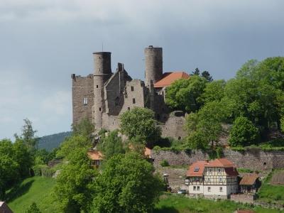 Burg Hanstein in Bornhagen (Thüringen)